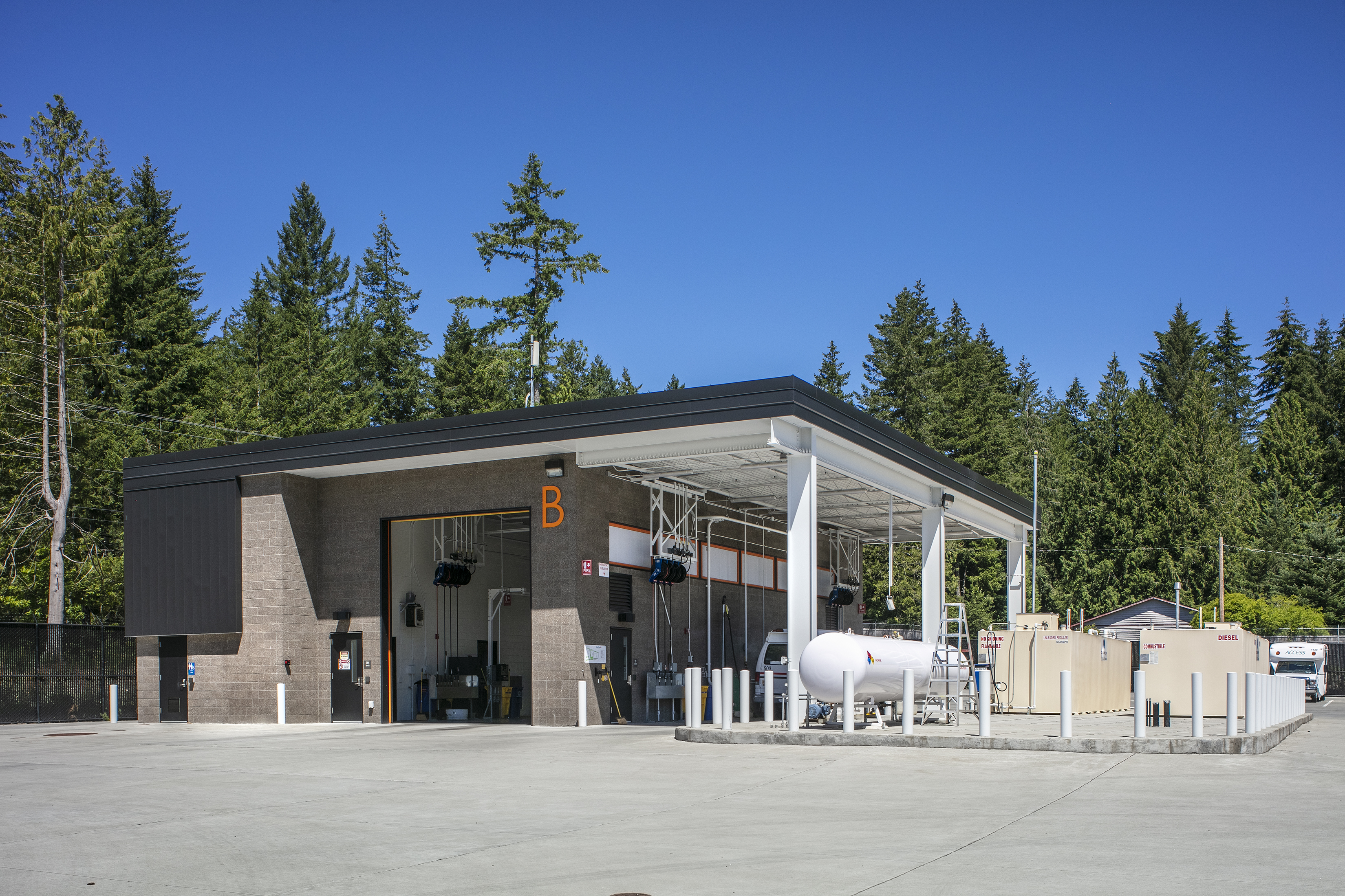 Kitsap Transit North Base and Park and Ride 9