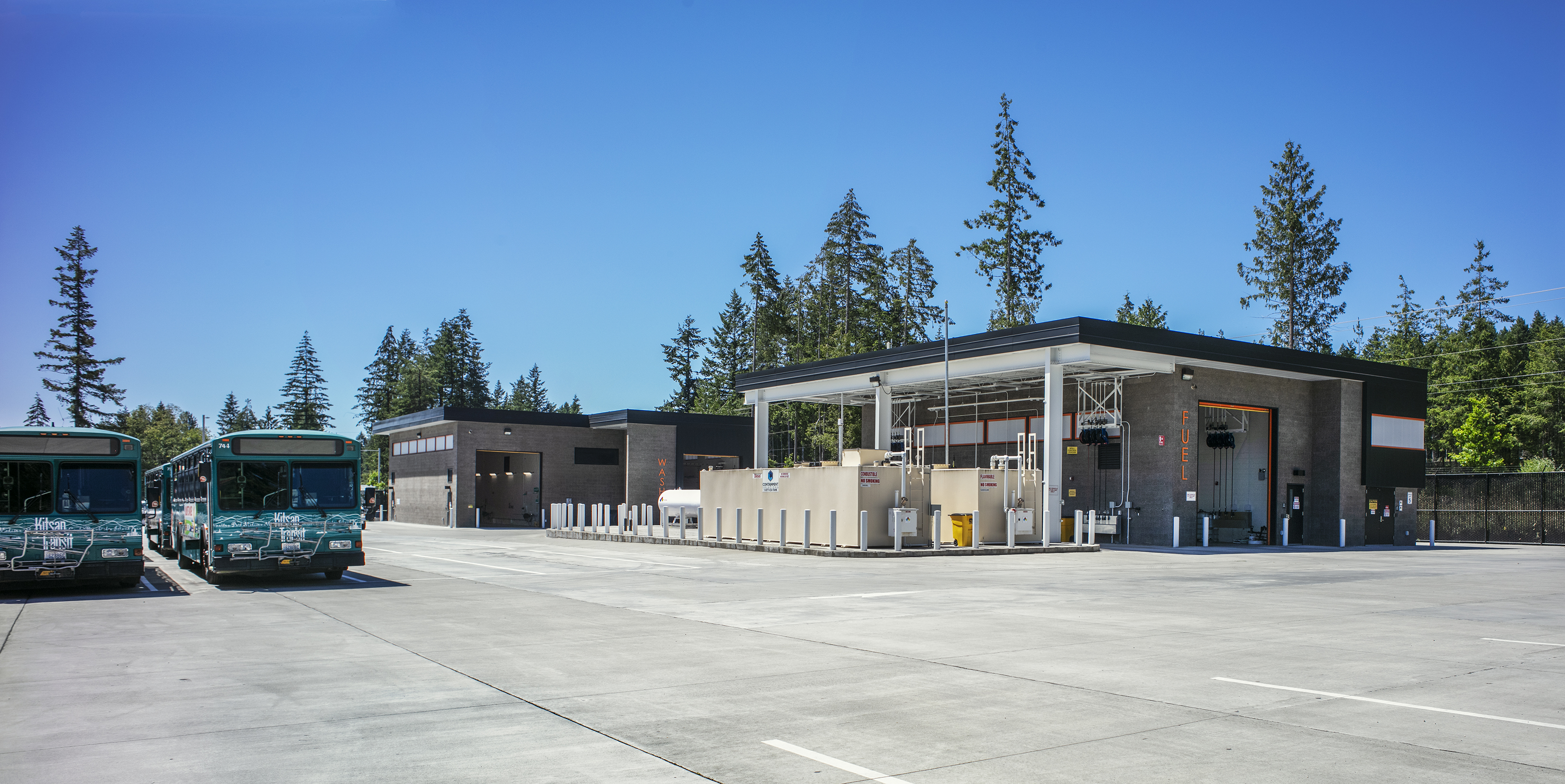 Kitsap Transit North Base and Park and Ride 7