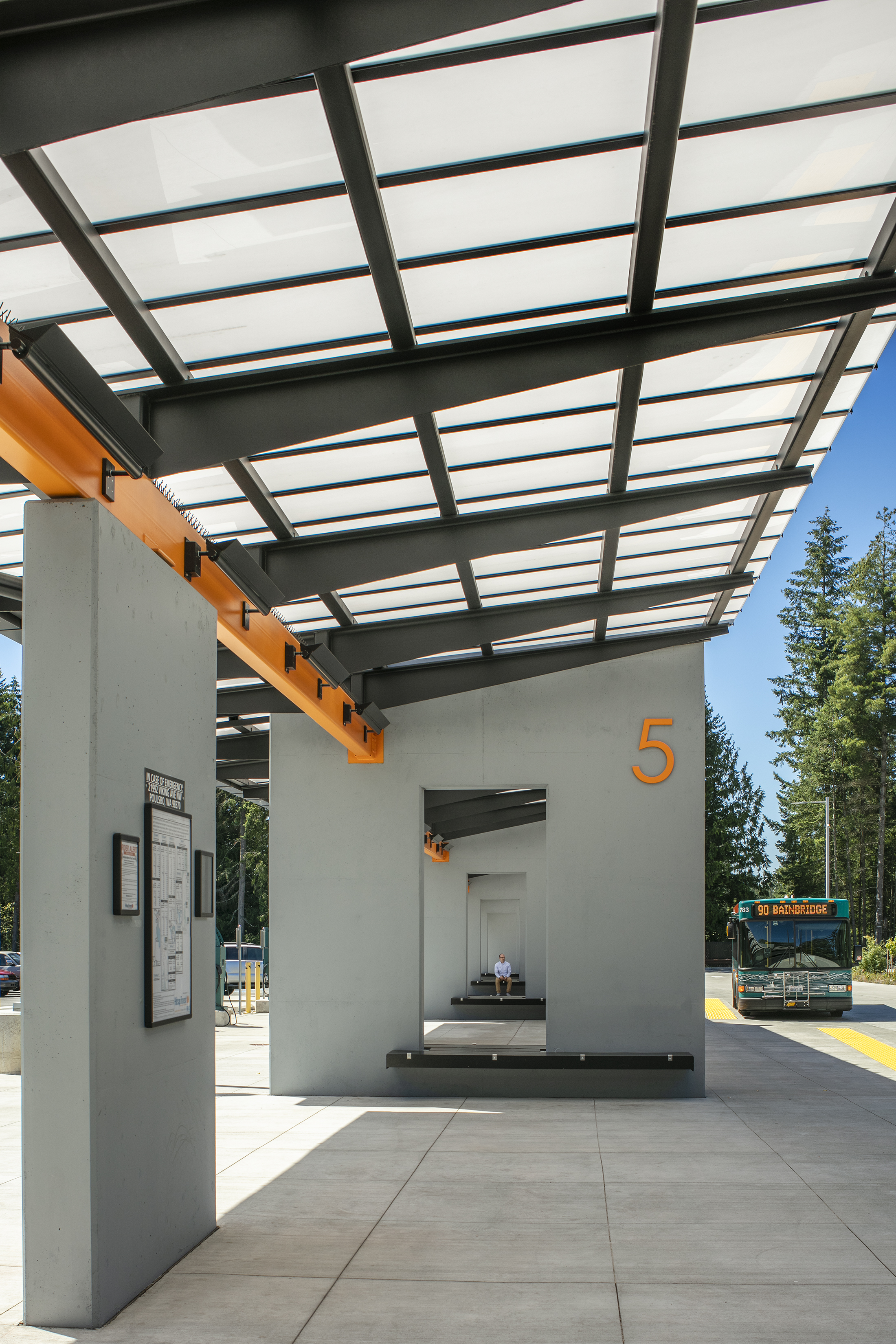 Kitsap Transit North Base and Park and Ride 5