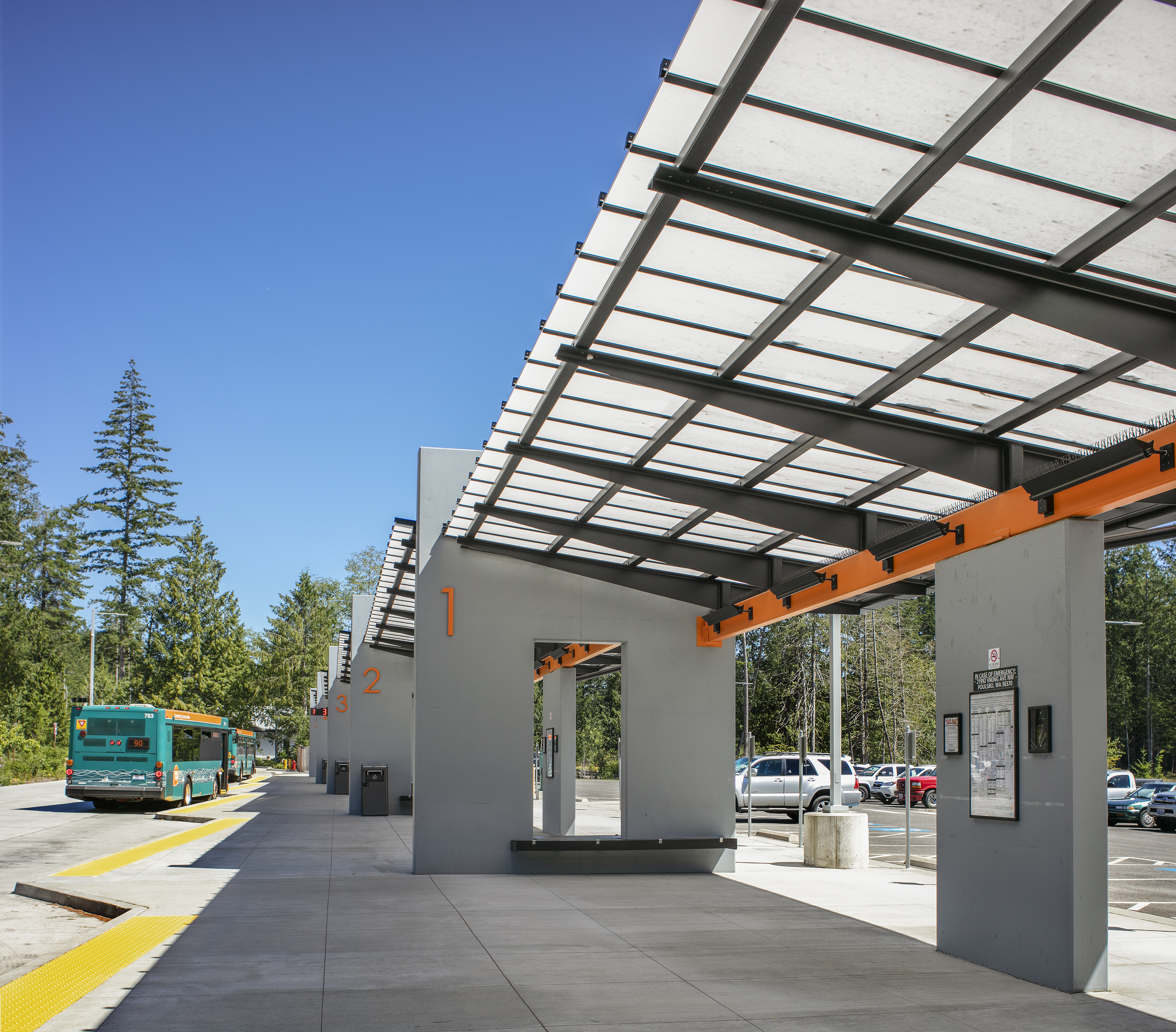 Kitsap Transit North Base and Park and Ride 4